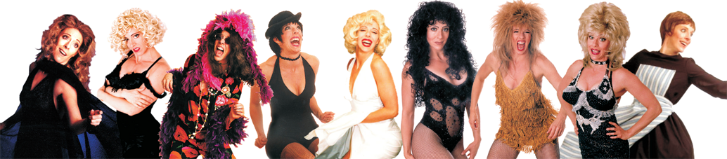 Cher Impersonator Tracey Bell Marilyn Monroe Impersonator Tracey Bell Liza Minnelli Impersonator Tracey Bell Janis Joplin Impersonator Tracey Bell Madonna Impersonator Tracey Bell Julie Andrews Impersonator Tracey Bell Tina Turner Impersonator Tracey Bell Dolly Parton Impersonator Tracey Bell