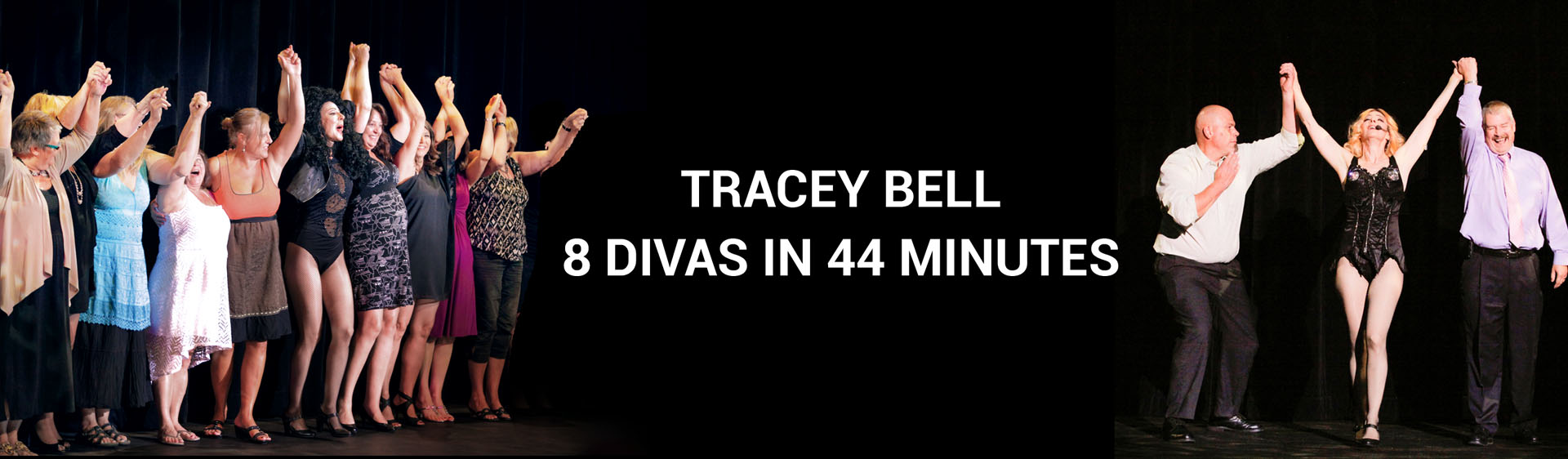 Tracey Bell - 8 Divas in 44 Minutes
