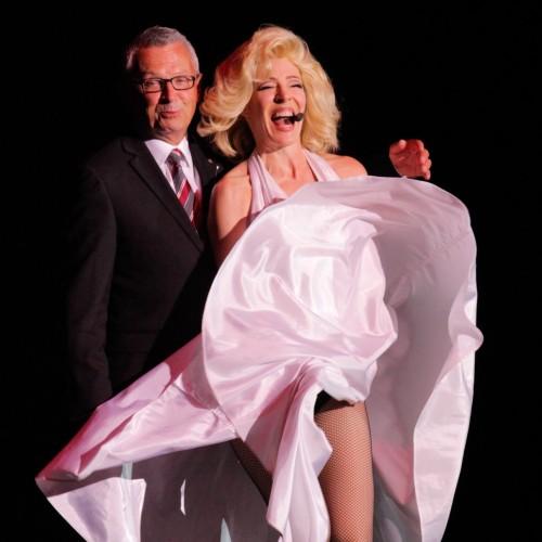 Marilyn Monroe Impersonator Tracey Bell
