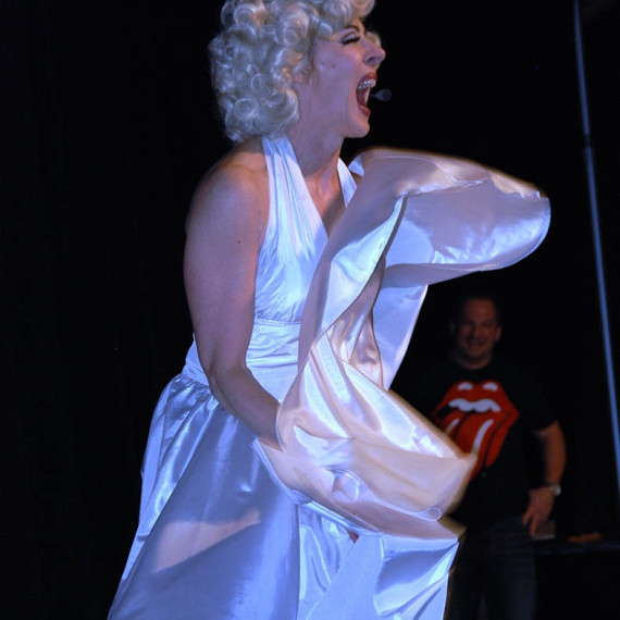 Marilyn Monroe Impersonator Tracey Bell
