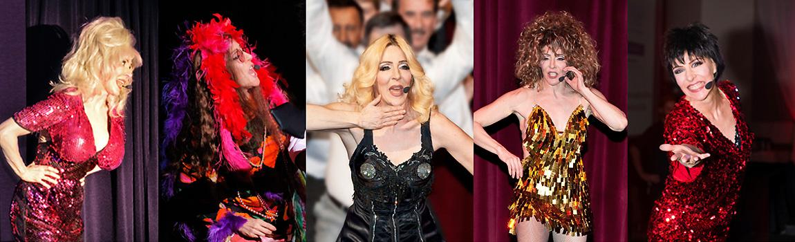 Madonna Impersonator Tracey Bell Julie Andrews Impersonator Tracey Bell Tina Turner Impersonator Tracey Bell Dolly Parton Impersonator Tracey Bell Celine Dion Impersonator Tracey Bell